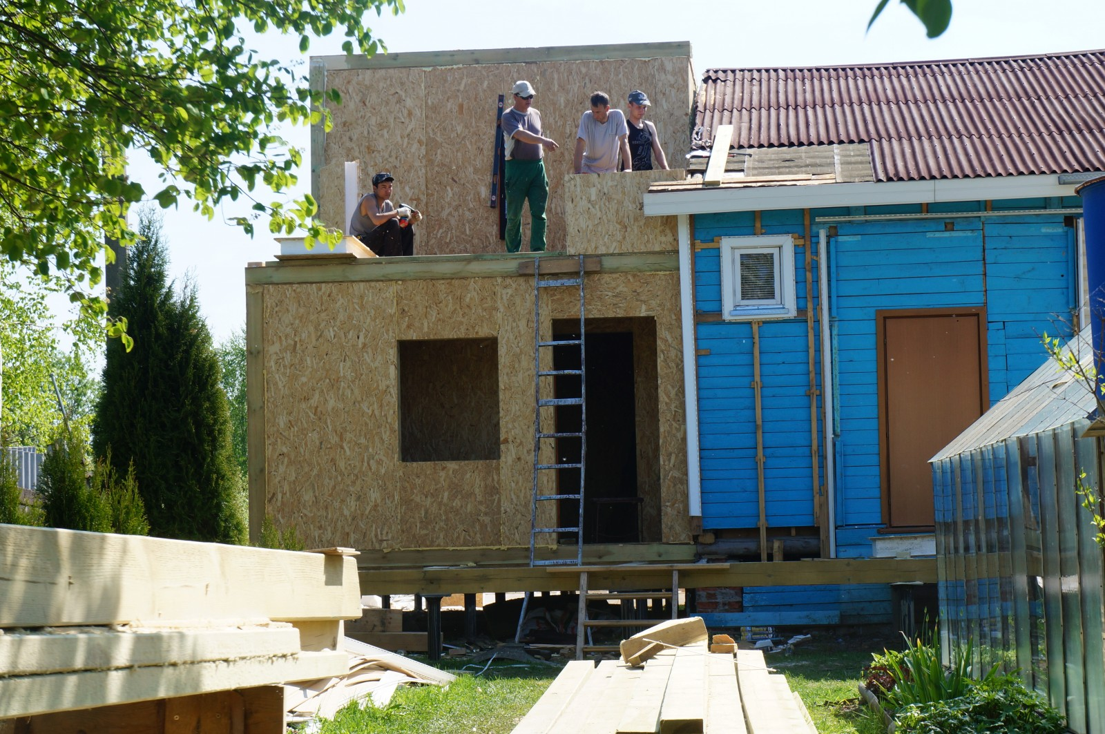 Фотогалерея SIP домов, построенных своими руками 79