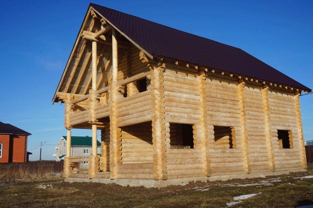 строительство домов из бруса в москве