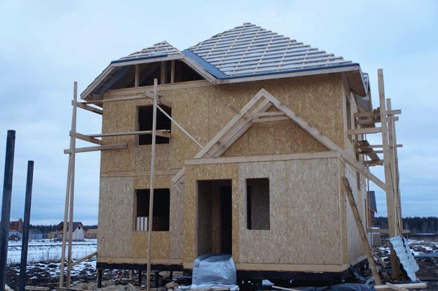 Выбор фундамента для каркасного дома