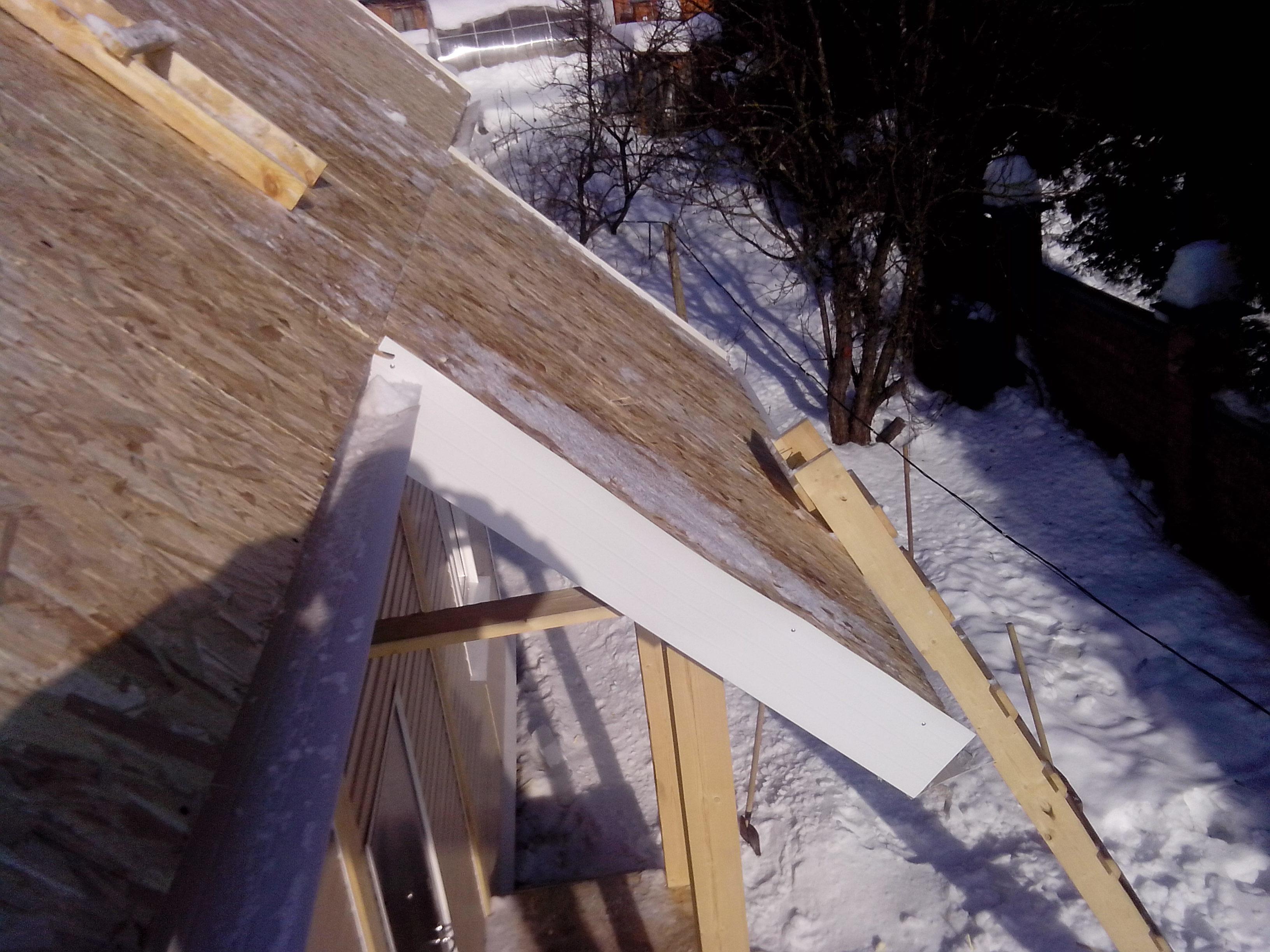 крыша из ОСП