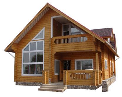 Строительство домов из бруса и бревна