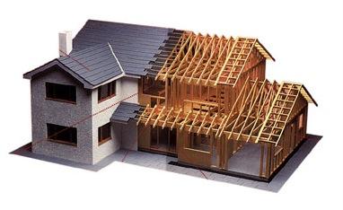 Схема строительства дома